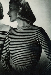 Striped Pullover Pattern No. 5304