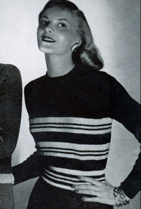 Striped Pullover Pattern No. 5312