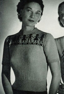 Scandinavian Sweater Pattern No. 5313