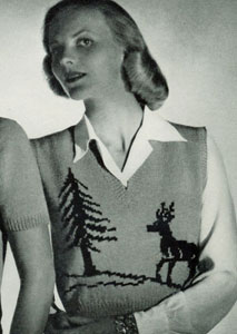 Scandinavian Sweater Pattern No. 5314