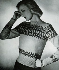 Scandinavian Sweater Pattern No. 5315