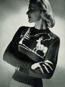 Scandinavian Sweater Pattern No. 5316