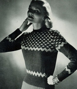 Scandinavian Sweater Pattern No. 5317