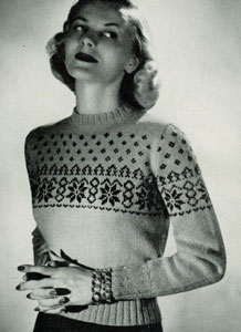 Scandinavian Sweater Pattern No. 5318