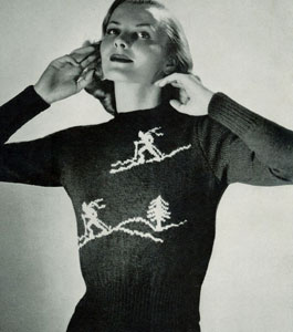 Scandinavian Sweater Pattern No. 5319