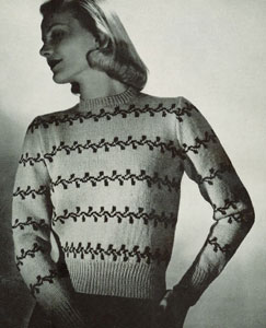 Scandinavian Sweater Pattern No. 5320