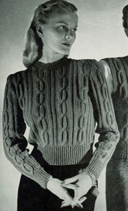 Pullover Pattern No. 5329