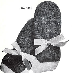 Infants Mittens Pattern #5601
