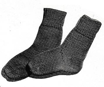 Classic Socks Pattern #5701