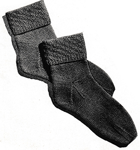 Children's Socks Pattern #5703