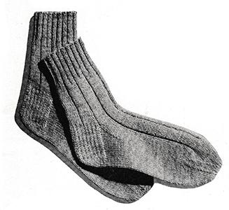 English-Rib Anklets Pattern #5711