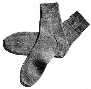 Girl's Classic Socks Pattern #5716