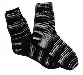 Ombre Socks Pattern #5717