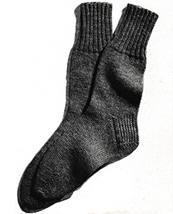 Men's Classic Socks Pattern #5722