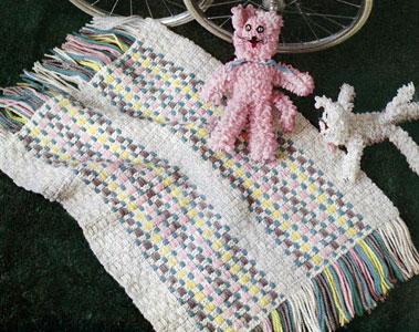 Knitted Carriage Cover Pattern