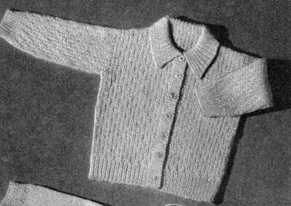 Cardigan 1 Pattern