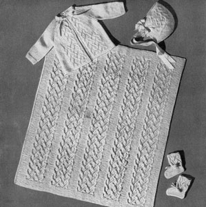 Infant's Five Piece Set Pattern