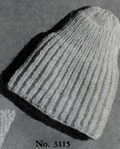 Pull-On Cap Pattern