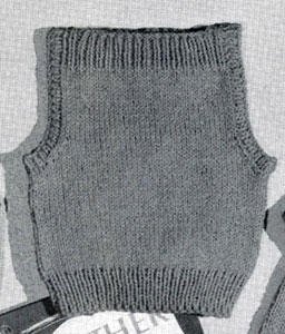 Speed Knit Sleeveless Pullover Pattern