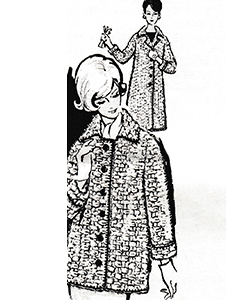 Knitted Jacket and Coat Pattern #533