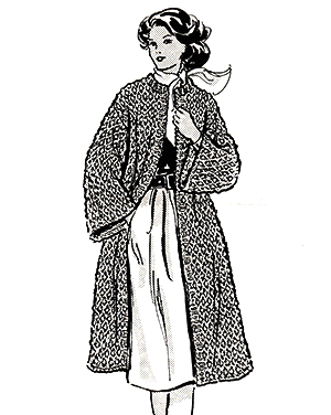 Knitted Coat Pattern #662