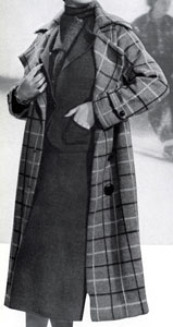 North Wind Scotch Sports Plaid Coat and Olympic Suit Pattern