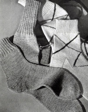Men's Sock Pattern No. 511