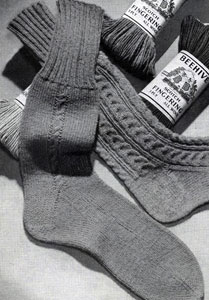 Men's Sock Pattern No. 519