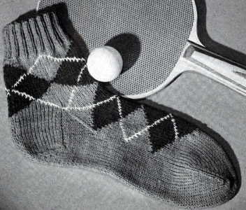 Women's Sock Pattern No. 534