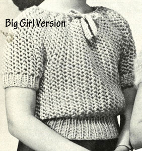 Bubble Blouses Pattern - big girl version