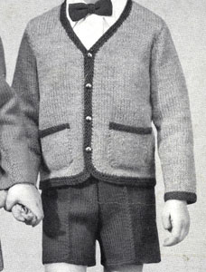 Boy's Blazer & Pants Pattern