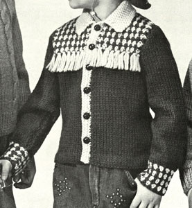 Boy's Cowboy Jacket Pattern