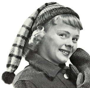 Girl's Stocking Cap Pattern