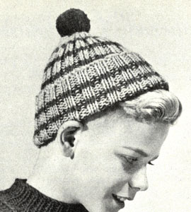 Boy's Toque Pattern
