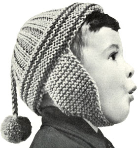 Boy's or Girl's Helmet Pattern