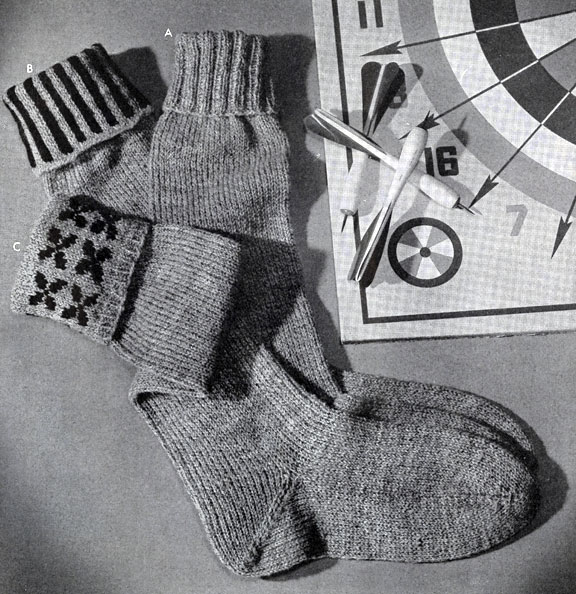 Children's Sock Pattern No. 529