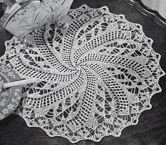 Treasure Piece Doily Pattern #3-52