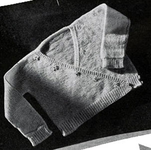 Surplice Sweater Pattern