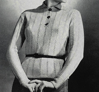 Galway Sweater Pattern #1107