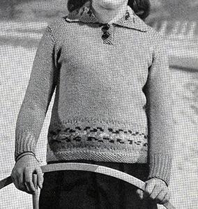 Joan Pullover Pattern #568