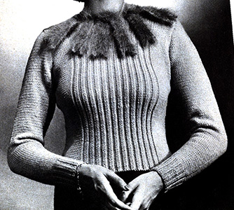 Demure Pullover Pattern #1114