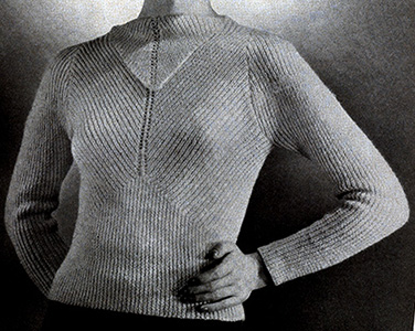 Duchesse Pullover Pattern #1115