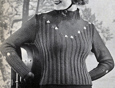Jack Frost Pullover Pattern #1117
