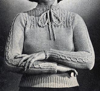 Gayety Pullover Pattern #1123