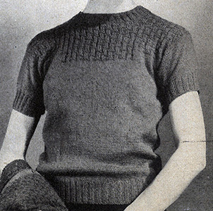 Classic Pullover Pattern #1124