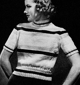 Blazer Sweater Pattern #1126