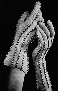 Cross Patch Gloves Pattern #2269