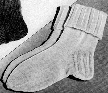 Knitted Socks Pattern #2276
