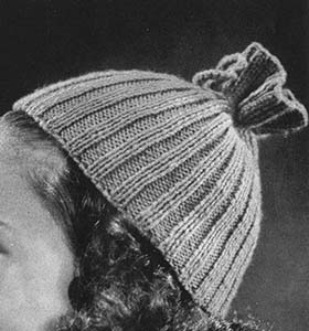 Ribbed Hat Pattern #42