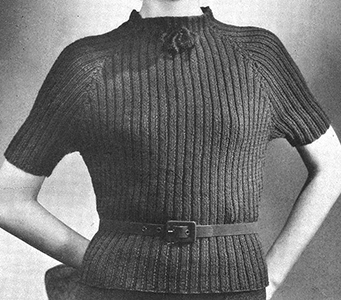 Rib Stitch Sweater Pattern #44